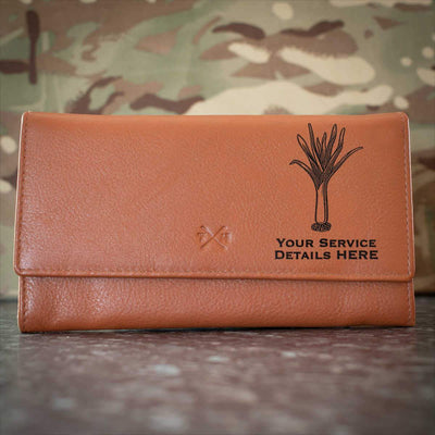 Welsh Guards Leather Purse