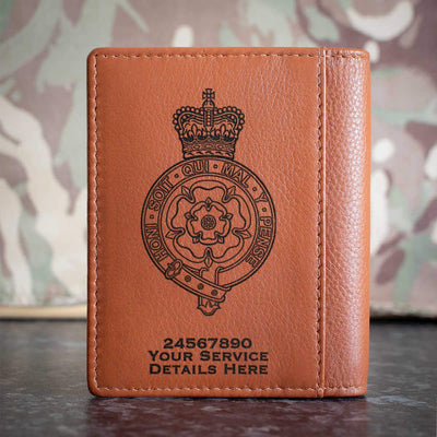 Royal Fusiliers (City of London Regiment) Credit Card Wallet
