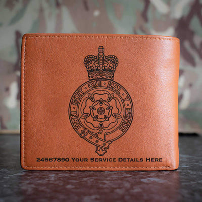Royal Fusiliers (City of London Regiment) Leather Wallet