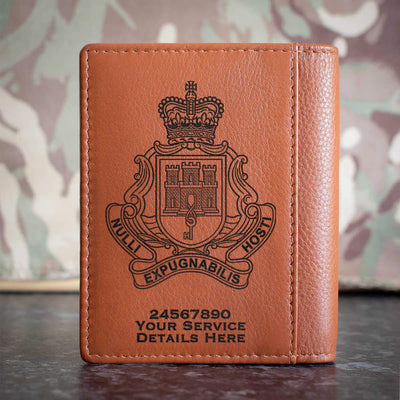 Royal Gibraltar Regiment Credit Card Wallet