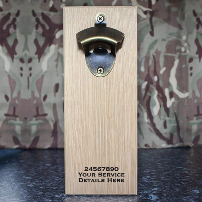 Royal Gloucestershire Hussars Wall-Mounted Bottle Opener