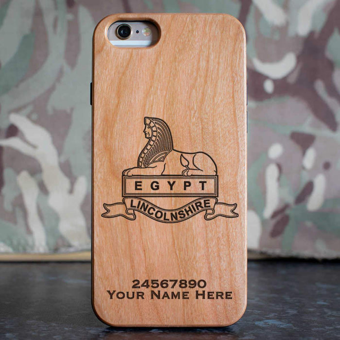 Royal Lincolnshire Regiment (Version A) Phone Case