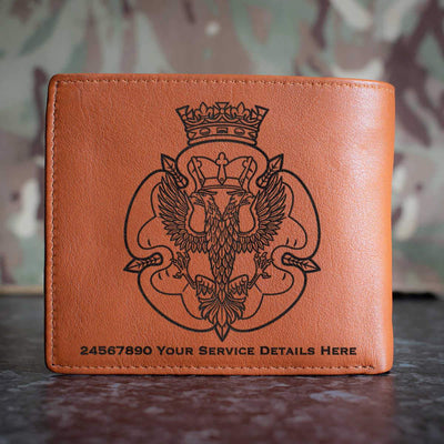 Royal Mercian and Lancastrian Yeomanry Leather Wallet
