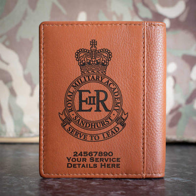 Royal Military Academy Sandhurst Credit Card Wallet