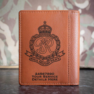 Royal Military Police (46 - 53) Credit Card Wallet