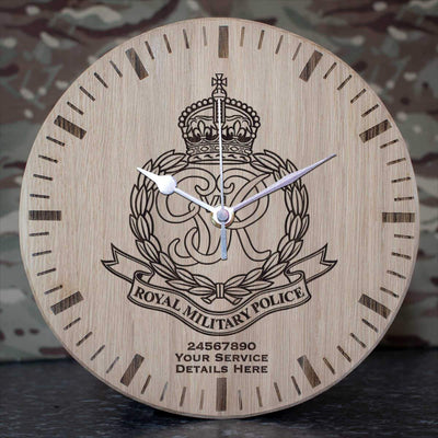 Royal Military Police (46 - 53) Oak Clock