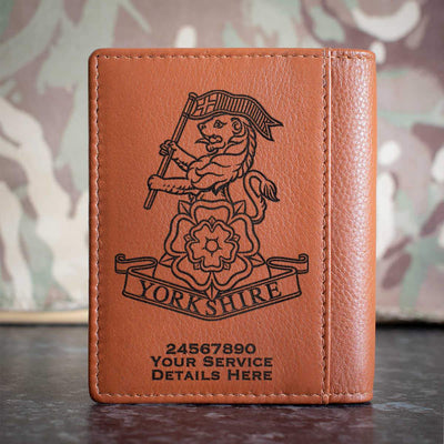 Yorkshire Regiment Credit Card Wallet