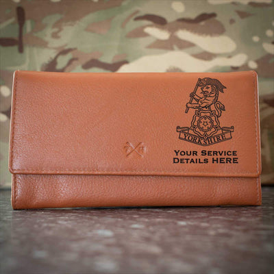 Yorkshire Regiment Leather Purse