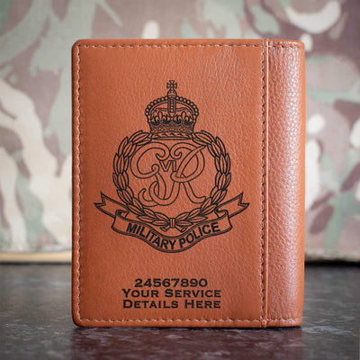 Royal Military Police (Kings Crown) Credit Card Wallet