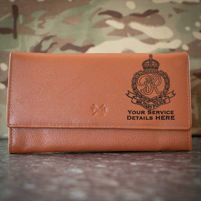 Royal Military Police (Kings Crown) Leather Purse