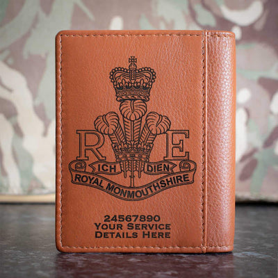 Royal Monmouthshire Regiment Credit Card Wallet