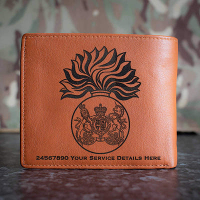 Royal Scots Fusiliers Leather Wallet