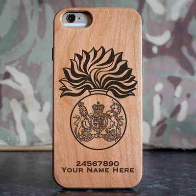 Royal Scots Fusiliers Phone Case