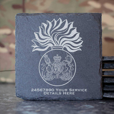 Royal Scots Fusiliers Slate Coaster