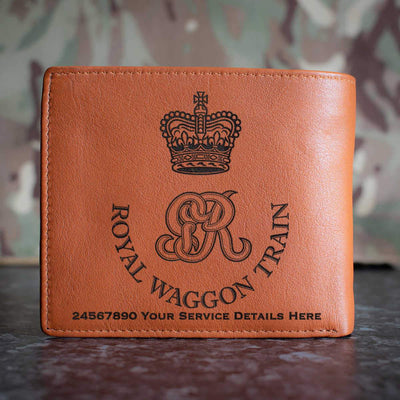 Royal Waggon Train Leather Wallet