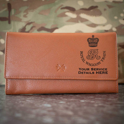 Royal Waggon Train Leather Purse