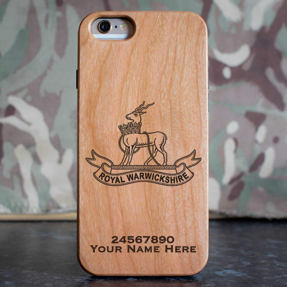 Royal Warwickshire Fusiliers Phone Case