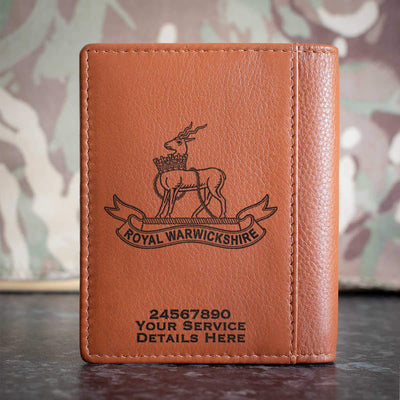 Royal Warwickshire Regiment Credit Card Wallet