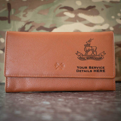 Royal Warwickshire Regiment Leather Purse