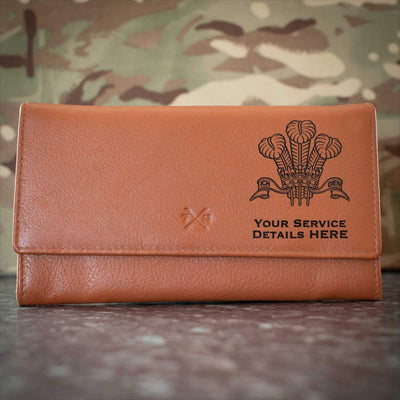 Royal Regiment of Wales Leather Purse