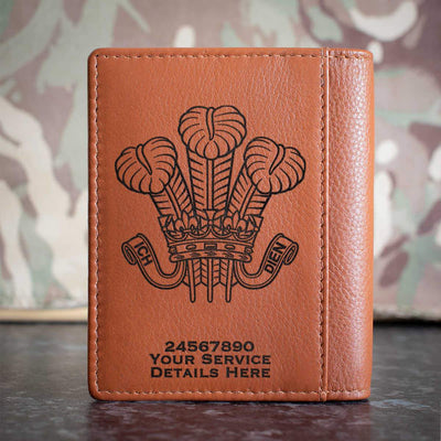 Royal Wiltshire Yeomanry Credit Card Wallet