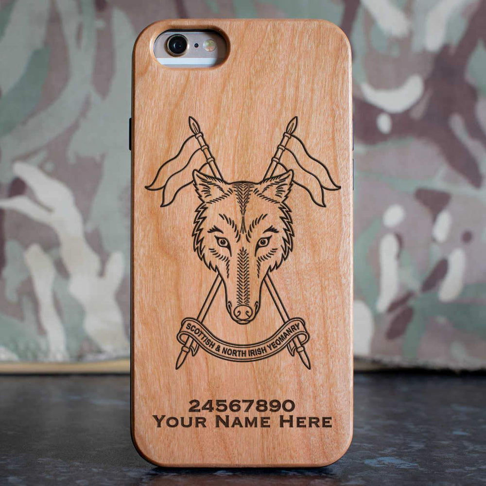 Scottish and Northern Irish Yeomanry Phone Case