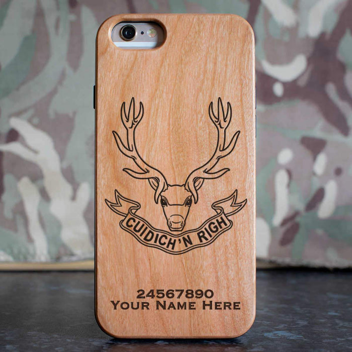 Seaforth Highlanders Phone Case
