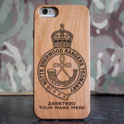 Sherwood Rangers Yeomanry Phone Case