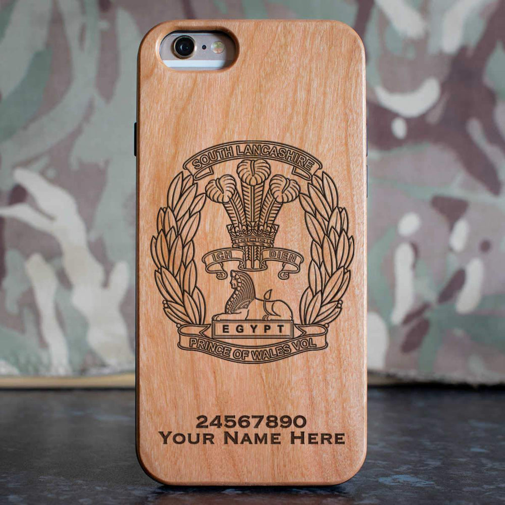 South Lancashire Regiment Phone Case
