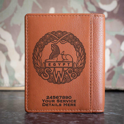 South Wales Borderers (WW1) Credit Card Wallet