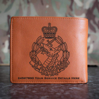 Royal Army Dental Corps Leather Wallet