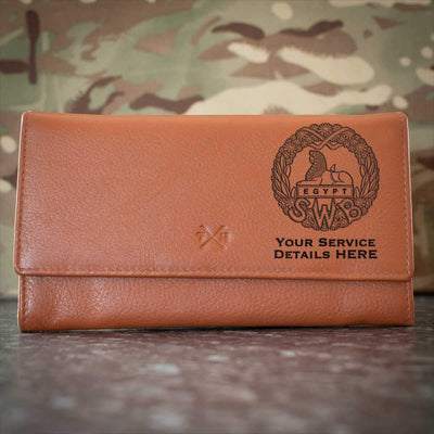 South Wales Borderers (WW2) Leather Purse
