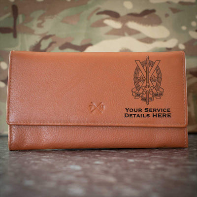 Tayforth Officer Training Corps Leather Purse