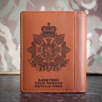 The Border Regiment Credit Card Wallet