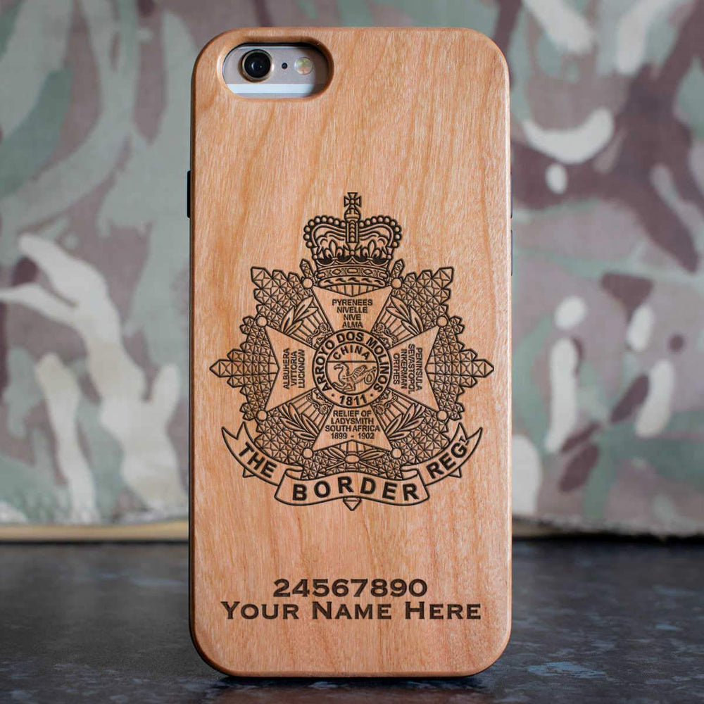 The Border Regiment Phone Case