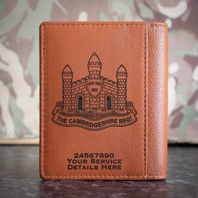 The Cambridgeshire Regiment Credit Card Wallet