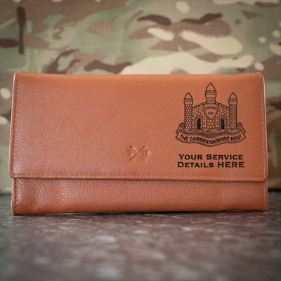 The Cambridgeshire Regiment Leather Purse