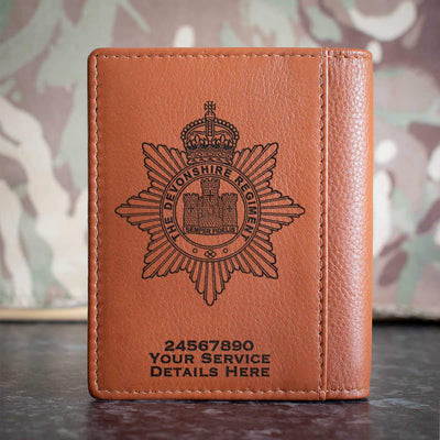 The Devon Regiment Credit Card Wallet