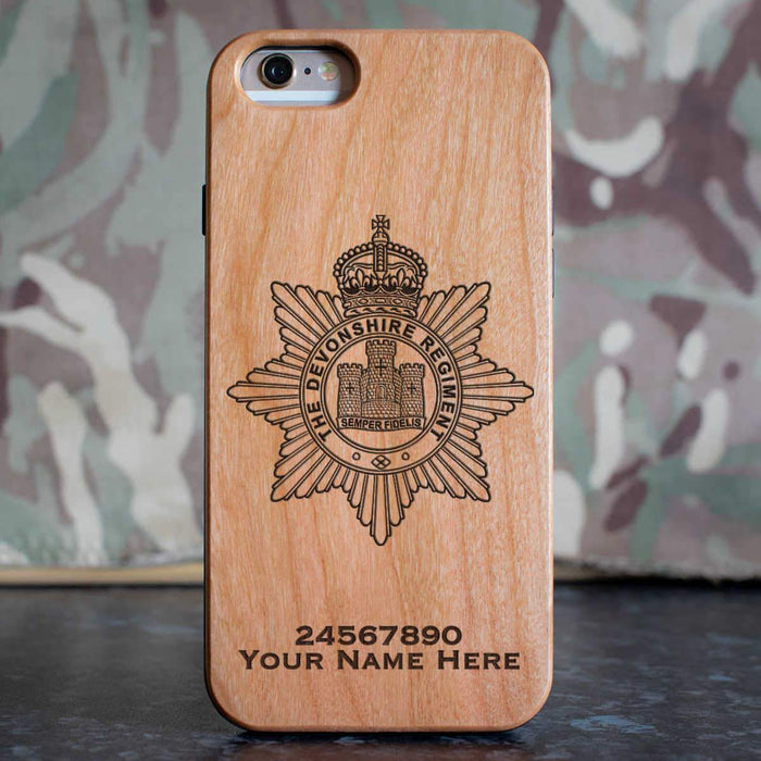 The Devon Regiment Phone Case