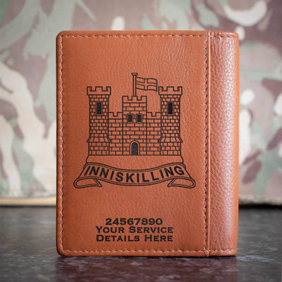 The Inniskillings (6th Dragoons) Credit Card Wallet
