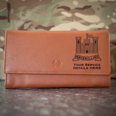 The Inniskillings (6th Dragoons) Leather Purse