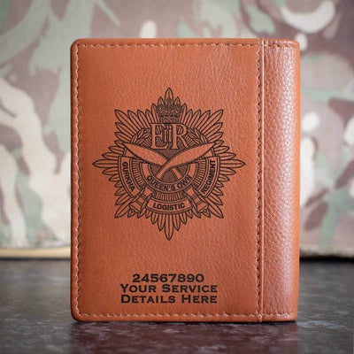 Queens Own Gurkha Logistic Regiment Credit Card Wallet