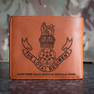 The Loyal Regiment Leather Wallet