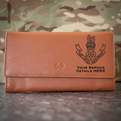 The Loyal Regiment Leather Purse