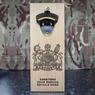The Manchester Regiment Wall-Mounted Bottle Opener