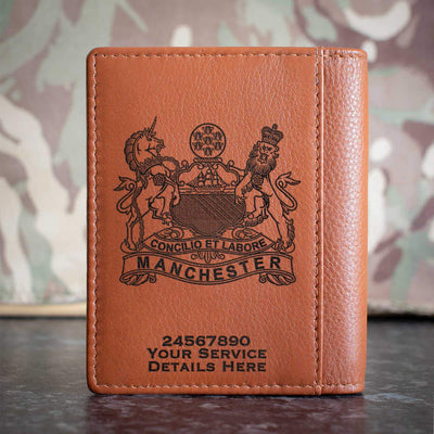 The Manchester Regiment Credit Card Wallet