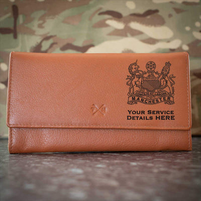 The Manchester Regiment Leather Purse