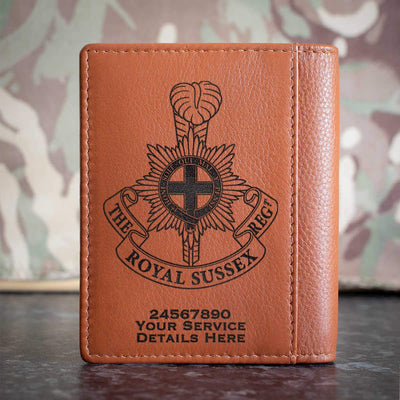 The Royal Sussex Regiment Credit Card Wallet
