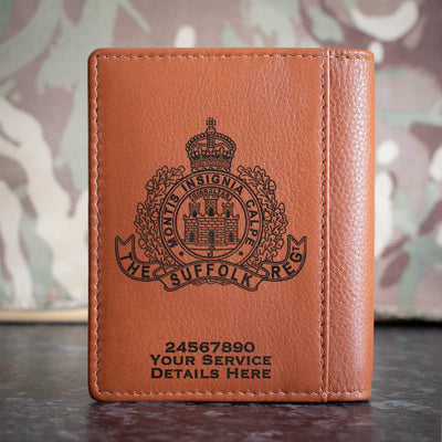 The Suffolk Regiment Credit Card Wallet