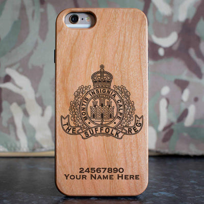 The Suffolk Regiment Phone Case